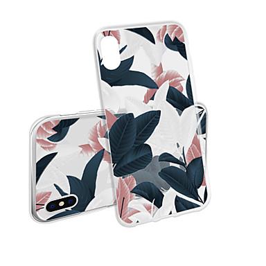 voordelige iPhone 5 hoesjes-hoesje voor iphone x xs max xr xs achterkant van de behuizing zachte hoes tpu drie kleuren bananenblad zachte tpu voor iphone5 5s se 6 6p 6s sp 7 7p 8 8p