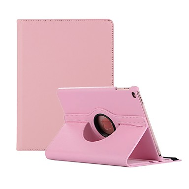 ieftine Carcase iPad-Maska Pentru Apple iPad Air / iPad 4/3/2 / iPad Mini 3/2/1 Rotație 360 ° / Anti Praf Carcasă Telefon Mată Greu PU piele / iPad Pro 10.5 / iPad 9.7 (2017)