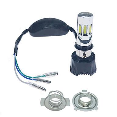 voordelige Motorverlichting-high power 4in1 6000k h4 / h6m 6-cob led motorfiets / fiets koplamp koplamp kit