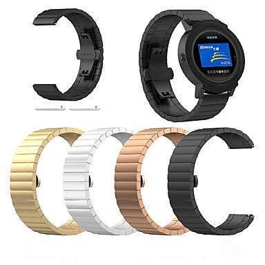 voordelige Smartwatch-accessoires-Horlogeband voor Vivoactive 3 Garmin Sieradenontwerp Roestvrij staal Polsband