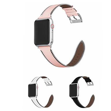 Недорогие Ремешки для Apple Watch-ремешок для часов для Apple Watch серии 4/3/2/1 яблоко классическая пряжка ремешок из натуральной кожи
