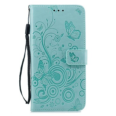 voordelige iPhone 6 Plus hoesjes-hoesje voor Apple iPhone XS / iPhone XR / iPhone XS Max portemonnee / kaarthouder / schokbestendig full body hoesjes effen / vlinder pu leer voor iPhone X / 7/8 plus / 6 / 6s plus / 5 / 5s / se