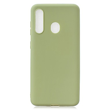 voordelige Galaxy A-serie hoesjes / covers-hoesje voor Samsung Galaxy A7 (2018) / A9 (2018) / Galaxy A10 (2019) Ultradunne / matte achterkant Effen TPU voor Samsung Galaxy A20 / A20E / A30 / A40 / A50 / A60 / A70