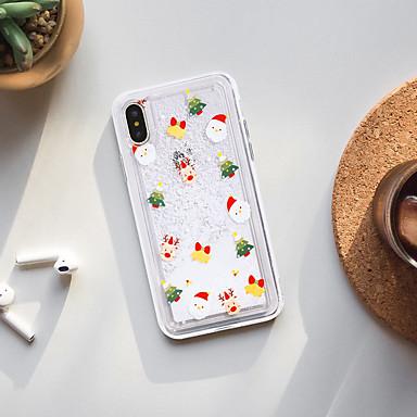 voordelige iPhone 7 hoesjes-hoesje voor Apple iPhone X / iPhone 8 plus stofdicht / stromende vloeistof / patroon achterkant cartoon zachte TPU / waterdicht / mode shell telefoon hoesje voor iPhone XS / XS Max / XR / iPhone 6S