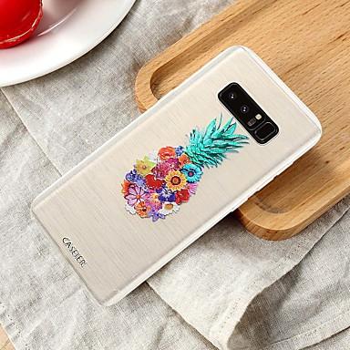 Недорогие Чехлы и кейсы для Galaxy S6 Edge-Кейс для Назначение SSamsung Galaxy S8 Plus / S7 edge / S6 edge Водонепроницаемый / Защита от пыли / Полупрозрачный Кейс на заднюю панель Продукты питания ТПУ