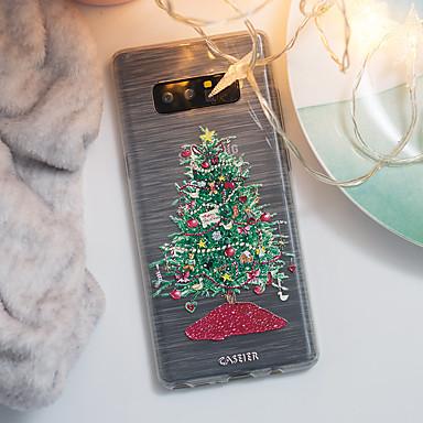 Недорогие Чехлы и кейсы для Galaxy S6 Edge-чехол для samsung galaxy s8 / s7 edge полупрозрачный / пылезащитный / с рисунком на задней обложке мультяшный мягкий тпу / водонепроницаемый мода / индивидуальное творчество тиснение мягкий чехол для