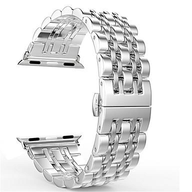 Недорогие Ремешки для Apple Watch-ремешок для часов для яблока серии 4/3/2/1 яблоко ювелирный дизайн браслет из нержавеющей стали
