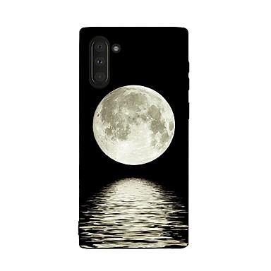 voordelige Galaxy Note-serie hoesjes / covers-hoesje Voor Samsung Galaxy Galaxy Note 10 / Galaxy Note 10 Plus Schokbestendig Achterkant Landschap TPU