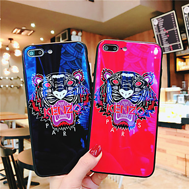 voordelige iPhone X hoesjes-hoesje Voor Apple iPhone XS / iPhone XR / iPhone XS Max Ultradun / Patroon Achterkant Woord / tekst / dier / Cartoon TPU