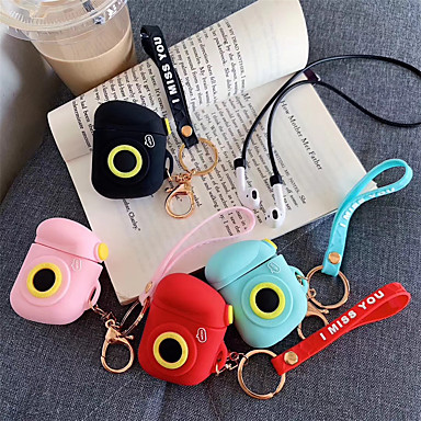 cheap AirPods Cases-Case For AirPods Shockproof / Pattern / Cool Headphone Case Soft