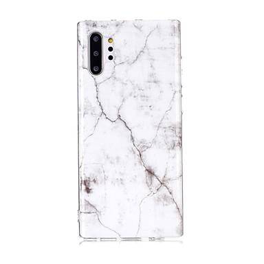 voordelige Galaxy Note-serie hoesjes / covers-hoesje Voor Samsung Galaxy Note 9 / Note 8 / Galaxy Note 10 Ultradun / Patroon Achterkant Marmer TPU