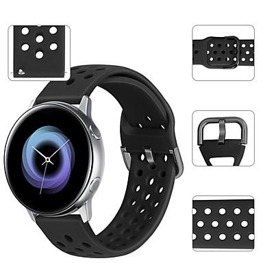 Недорогие Аксессуары для смарт-часов-Спортивный силиконовый ремешок для часов ремешок на запястье для часов Huawei 2 / Ticwatch 2 / Ticwatch E браслет сменный браслет