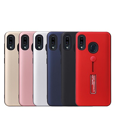 voordelige Galaxy J-serie hoesjes / covers-hoesje Voor Xiaomi J5 Prime / J2 Prime / Galaxy M10 (2019) met standaard Achterkant Effen PC