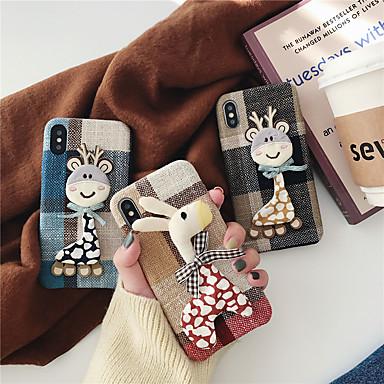 voordelige iPhone 6 Plus hoesjes-hoesje Voor Apple iPhone XS / iPhone XR / iPhone XS Max Patroon / DHZ Achterkant Cartoon tekstiili