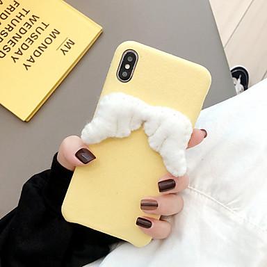 voordelige iPhone-hoesjes-hoesje Voor Apple iPhone 11 / iPhone 11 Pro / iPhone 11 Pro Max Ultradun / Patroon Achterkant Cartoon / Veren / Pluche TPU / Katoen