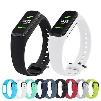 voordelige Horlogebandjes voor Samsung-siliconen horlogeband polsband voor Samsung Galaxy Fit-E R375 armband vervangbare polsband