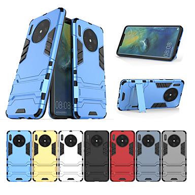 voordelige Huawei Mate hoesjes / covers-schokbestendig solide hard met standaard telefoonhoesje voor Huawei mate 30 mate 30 lite mate 30 pro mate 20 mate 20 lite mate 20 pro mate 10 mate 10 lite mate 10 pro