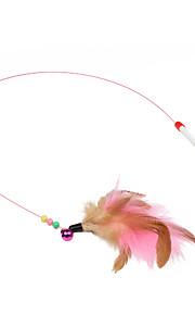 Дразнилки Игрушка с перьями Стик пластик Назначение Кошка Игрушка для котов