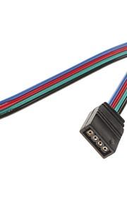 Kvi 4Pin Fargerike Led Lyss Konnektor