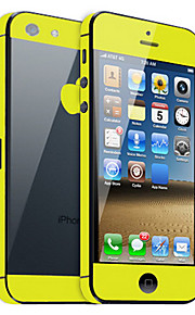 Solid Color Guard Pelle con Nero Back Protector per iPhone 5 (Colori facoltativi)