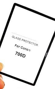 fotga® premium lcd-skærm panel protektor glas til Canon EOS 700D