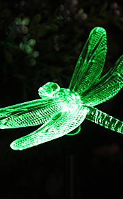 Solar Color-Endre Dragonfly Hage Stake Light (CSS-57273)