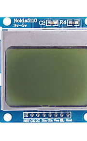 """1.6"""" Nokia 5110 LCD Module with Blue Backlit for (For Arduino)"""