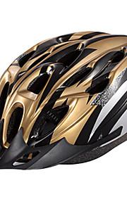 קסדת רכיבה על אופניים יצוק Unintegrally IFire זהב השחור