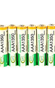 BTY 1.2V 1350mAh Oplaadbaar Ni-MH Aaa Batterij 8 pcs