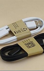 Micro-USB 2.0 USB 2.0 Adattatore cavo USB Normale Cavi Per Cellulari Samsung 100 cm PVC