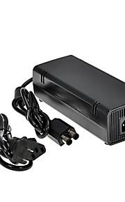 מטען מתאם מתח AC חדש 12v 135w עם כבל חשמל לxbox360 של מיקרוסופט לבנה שחור דק
