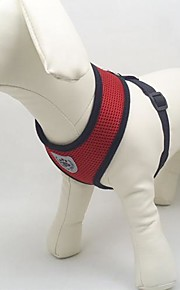 Собака Ремни Дышащий текстильный Сетка Черный Красный Синий Розовый
