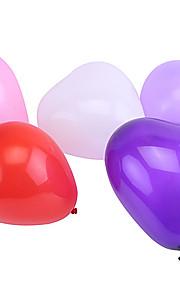 Bolas Balões Coração Estilo Pérola Tamanho Grande Inflável Diversão Festa Clássico