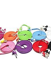Micro USB Adattatore cavo USB Cavi Per Samsung Plastica