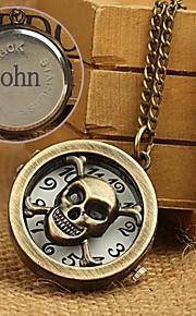 spersonalizowany prezent stopu zegarek kieszonkowy z wygrawerowanym naszyjnik 78cm łańcucha