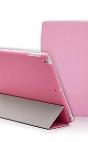 Case Kompatibilitás iPad 4/3/2 Egyszínű Folio Case Újdonság PU bőr mert