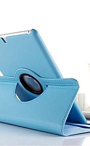 Case Kompatibilitás iPad 4/3/2 Állvánnyal 360° forgás Héjtok Egyszínű PU bőr mert iPad 4/3/2