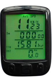 Bike Computer,25 Functions Waterproof backlight LCD Cycling Bike Bicycle Computer Odometer Speedometer Accessories