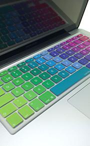 """coosbo® svenska färgglada silikon tangentbord täcker flår eu layout för 13 """"/ 15"""" / 17 """" macbook air Pro / retina / imac g6"""