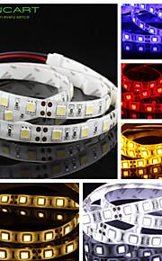 Fleksible LED-lysstriper 60 LED Varm hvit Hvit Gul Blå Rød Kuttbar Mulighet for demping Selvklebende Passer for kjøretøy Koblingsbar DC