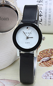 Personalized Gift Women's Casual Watch Leather Strap Engraved Watch