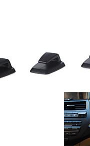 3szt wygodne mini samoprzylepny wieszak na hak samochodu abs