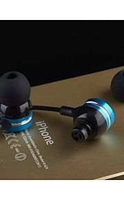 JBMMJ-X9  Headphone 3.5mm In Ear Canal Stereo Noise-Cancelling for Media Player/Tablet
