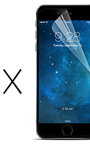 3-pack  hög transparens lcd kristallklar skärmskydd med rengöringsduk för  iphone 6s plus d988e9f9335b3