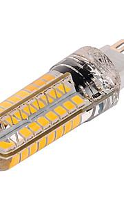 YWXLIGHT® 1pc 10 W 1000 lm G9 LED Λάμπες Καλαμπόκι T 72 LED χάντρες SMD 2835 Με ροοστάτη Θερμό Λευκό / Ψυχρό Λευκό 220-240 V / 1 τμχ / RoHs