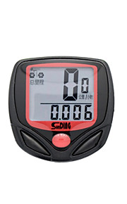 Cycling/Bike Bike Computers/Bicycle Computers Clock / Riding Time Calculator / Convenient / Odometer Black Plastic