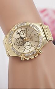 Homens Mulheres Casal Quartzo Simulado Diamante Relógio Relógio de Moda suíço imitação de diamante Designers Aço Inoxidável Banda Amuleto