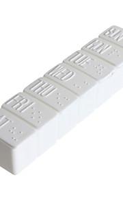 Porta-Comprimidos para Viagem Portátil para Acessórios de Emergência para Viagens