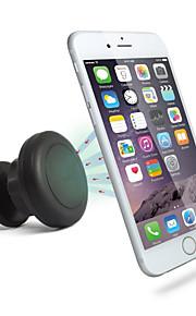 Supporto per cellulare Auto Ventola per l'aria Chiusura magnetica Plastica for Cellulare