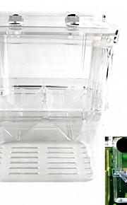dobbelt inkubator ungfisk reproduktion isolation boks (l størrelse)